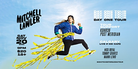 Mitchell Lawler - Day One Tour - Calgary - Nov 20 tickets