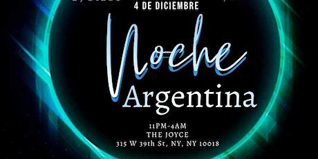 NOCHE ARGENTINA - 4 de diciembre tickets