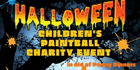 Children's Halloween Paintball Charity Event 2pm Slot tickets