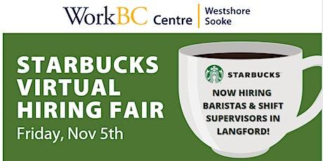 Starbucks  Virtual Hiring Fair tickets
