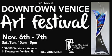 33rd Annual Downtown Venice Art Festival tickets