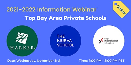 Information Webinar on the Top Bay Area Private Schools tickets