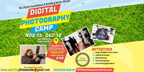 Digital Photography Camp tickets