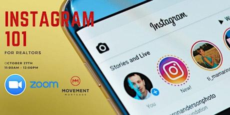 Instagram 101 for Realtors entradas
