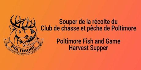 Souper de la récolte 2021 Harvest Supper tickets