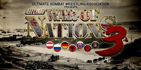 UKWA War of Nations 3 - Die finale Schlacht Tickets