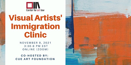 Visual Artists' Immigration Clinic tickets