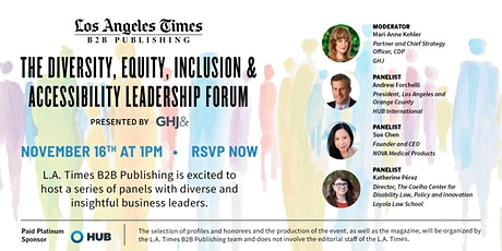 Diversity, Equity, Inclusion & Accessibility Forum tickets