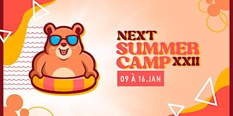 NXT Summercamp ingressos