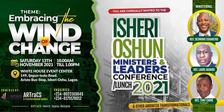 International Conference For Ministers and leaders/Lunch 2021 tickets