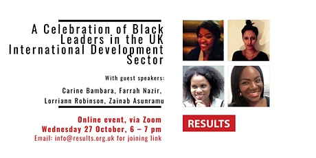 A Celebration of Black Leaders in the UK International Development Sector tickets