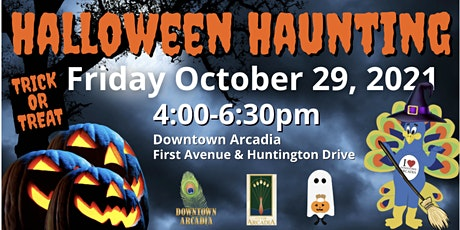 Halloween Haunting and Trick-or-Treating in Downtown Arcadia tickets