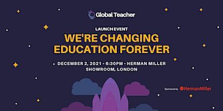 Global Teacher: Solar Powered Projector Launch Sponsored by Herman Miller tickets