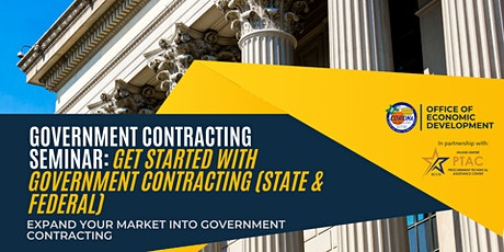 Government Contracting Seminar: Get started with Government Contracting tickets