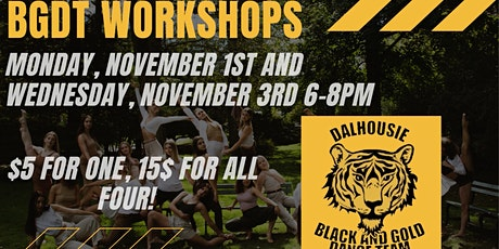 BGDT workshop series tickets