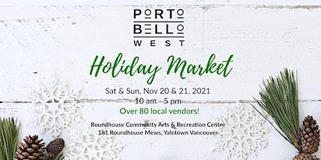 Portobello West Holiday Market 2021 tickets