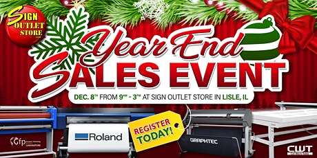 Year End Sales Event tickets
