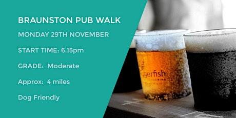 BRAUNSTON EVENING PUB WALK | 4 MILES | MODERATE | NORTHANTS tickets