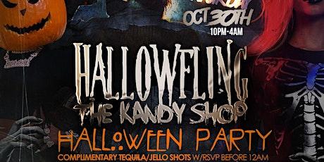 HallowFling Kandy Shop Halloween Party Saturday Oct 30th Harlem Night NYC tickets