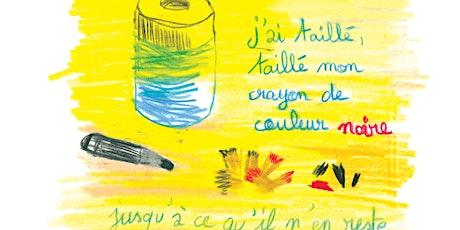 Atelier de Journal dessiné avec l'auteure et dessinatrice Julie Delporte billets