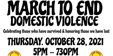 March to End Domestic Violence tickets