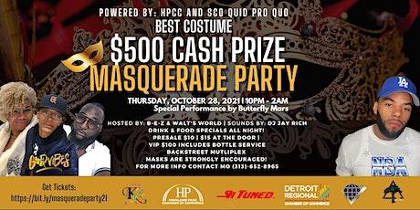 Masquerade Ball Party @ Backstreet Multiplex tickets