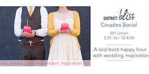 District Bliss Couples Social NY: Laidback Happy Hour...