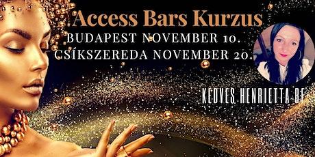 Access Bars Kurzus tickets