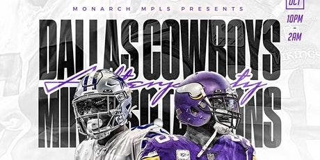 Vikings vs. Cowboys Game Day After Party tickets
