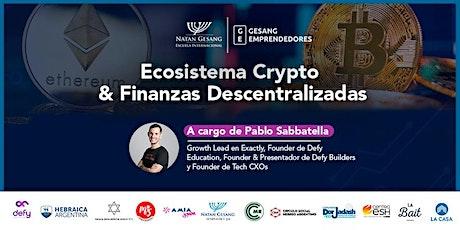 Ecosistema Crypto & Finanzas Descentralizadas entradas