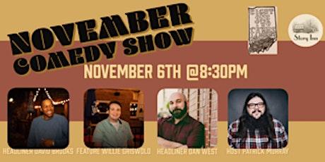 November Comedy Show tickets
