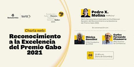 Charla web: Reconocimiento a la Excelencia 2021 del Premio Gabo entradas