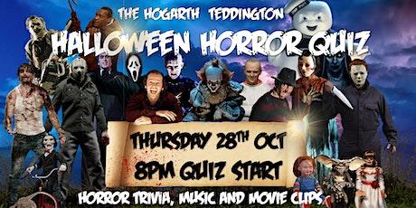 The Hogarth's Halloween Horror Quiz tickets