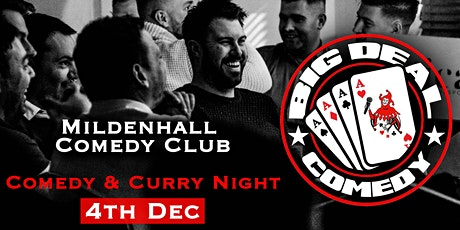 Mildenhall Comedy & Curry Night tickets