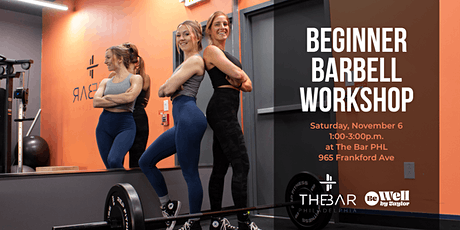 Beginner Barbell Workshop for Women tickets