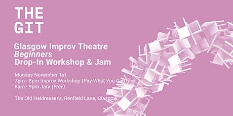 Beginners Drop-In  Improv Workshop and Jam tickets
