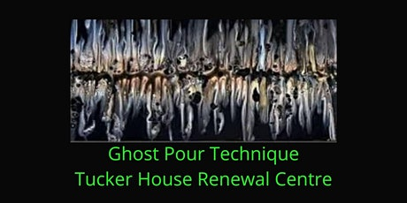 Halloween Pour Painting in Rockland  - Ghost Pour tickets