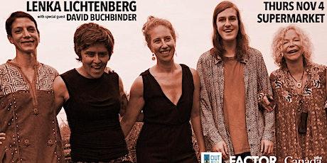 Lenka Lichtenberg with David Buchbinder tickets