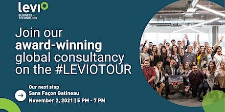 The Levio Tour  •  Business + IT Recruitment  •  Sans Façon Gatineau tickets