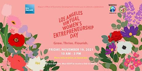Los Angeles Virtual Women's Entrepreneurship Day 2021 tickets