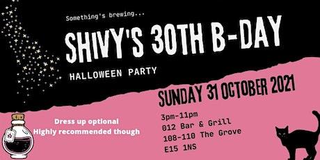 Shivy's  30th Birthday Halloween Party tickets
