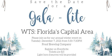 WTS: Florida's Capital Area Chapter Gala-Lite tickets