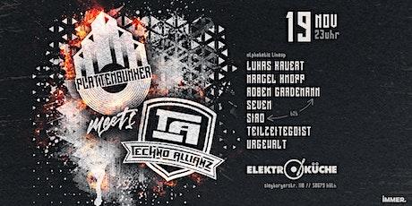 PLATTENBUNKER meets Techno Allianz tickets