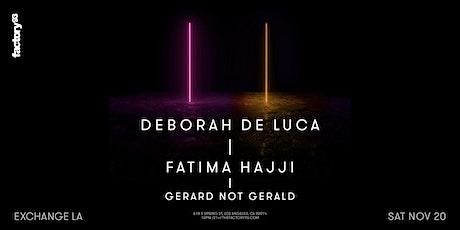 Deborah de Luca + Fatima Hajji tickets