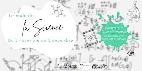 Vernissage : Le mois de la science tickets