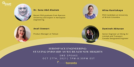 Aerospace Engineering: Staying Onboard as we Reach New Heights tickets