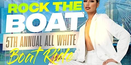 ROCK THE BOAT ALL WHITE BOAT RIDE PARTY MUSIC FESTIVAL CINCINNATI 2022 tickets
