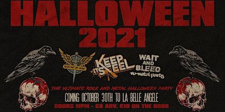 Halloween 2021: Kickstart My Heart Vs Keep it Steel Vs Wait and Bleed tickets