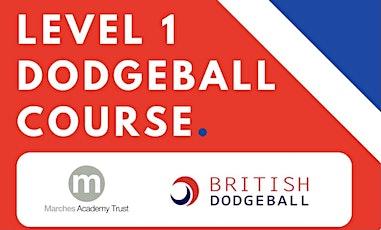 Level 1 Dodgeball Qualification (Shropshire) tickets