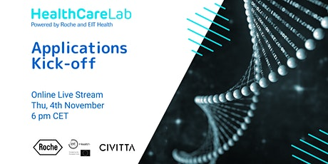 HealthCare Lab - 2nd edition Applications Kick-off tickets